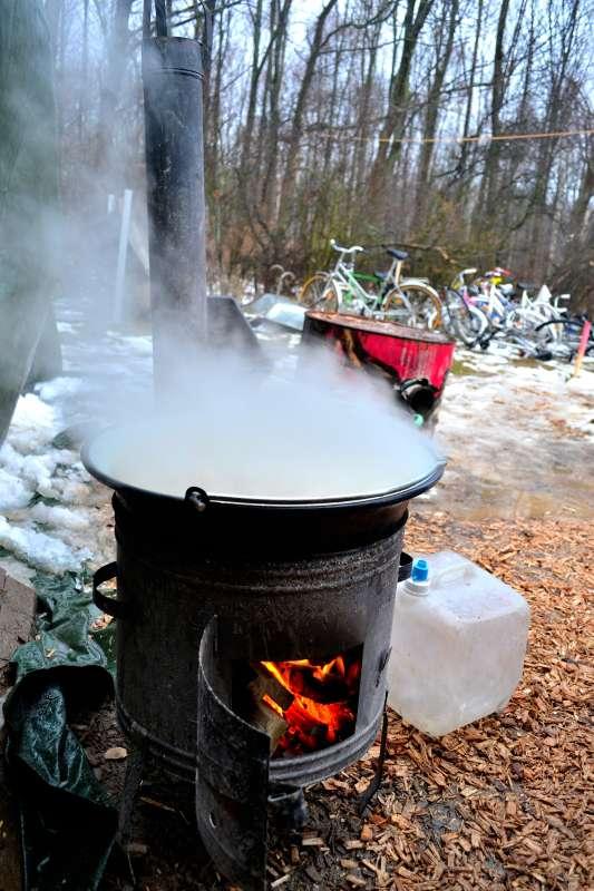 Hei�e Suppe vom hei�en Ofen!