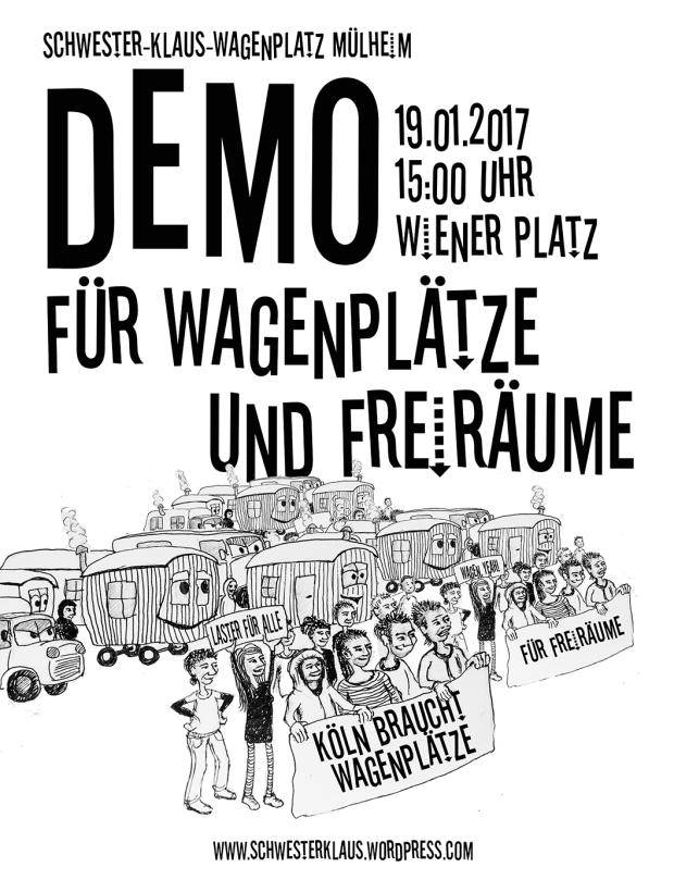 demo wagenplatz mühlheim